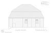 Wooden synagogue in Pakruojis - drawings Drawings – הספרייה הלאומית