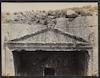 Detail of Pediment, Tombs of the Judges, Jerusalem