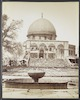 Mosqué́e d'Omar avec bassin -Mosque of Omar with basin – הספרייה הלאומית