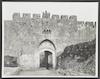 Porte de Saint-Etienne -St. Stephen's Gate – הספרייה הלאומית