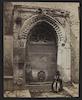 Jerusalem Fountain Near the Gate of the Chain – הספרייה הלאומית