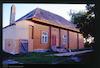 Wooden Synagogue in Musninkai Western facade – הספרייה הלאומית