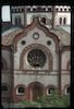 Synagogue in Subotica Eastern façade - detail – הספרייה הלאומית