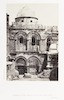 Entrance of the Church of the Holy Sepulchre -Sinai and Palestine – הספרייה הלאומית