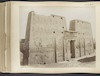 Edfou--Pylons du Temple d'Horus -Edfou--Pylons from the Temple of Horus – הספרייה הלאומית