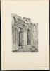 Porte du Petit Temple de Ba'albek -Gate of the Small Temple of Baalbek -La Palestine Illustrée IV: Collection de Vues Recueillies en Orient, Galilee et Liban