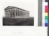 The Temple of Theseus, Athens -Built a few years after the Battle of Salamis, by Cymon, the son of Militiades, 465 B.C. -F. Frith's Photo-Pictures from the Lands of the Bible Illustrated by Scripture Words