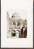 Facciata del S. Sepolcro -Façade of St. Sepulchre -Ricordo di Palestina – הספרייה הלאומית