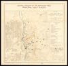 Central portion of the Jerusalem area: principal Holy Places;Israel - Jordan armistice line of 3 April 1949 /;base map: Survey of Palestine.