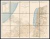 Karte von Arabia Petraea;nach eigenen Aufnahmen von Professor Dr. Alois Musil – הספרייה הלאומית