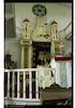 Sephardi Synagogue in Drobeta-Turnu Severin (Szörényvár) Torah ark – הספרייה הלאומית