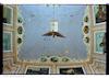 Grain Merchants' Synagogue in Bacău, photos 1996 Ceiling, paintings – הספרייה הלאומית