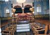 Small Synagogue in Kutaisi Interior, Bimah – הספרייה הלאומית