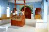 Trabelsia Synagogue in Djerba Interior, Reader's desk – הספרייה הלאומית
