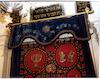 Parokhet from the Italian Synagogue (Kal de los Frankos) in Istanbul Torah ark curtain – הספרייה הלאומית
