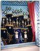 Italian Synagogue (Kal de los Frankos) in Istanbul Torah ark – הספרייה הלאומית