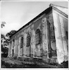 Synagogue in Oles'ko, photos of1993 (black and white) Southern facade – הספרייה הלאומית