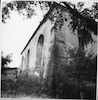 Great Synagogue in Ostroh (Ostrog), photos 1994 (black and white) View from South-East – הספרייה הלאומית