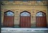 Choral Synagogue at 90 Dzerzhinskogo St. in Kirovohrad NW facade, entrance doors – הספרייה הלאומית