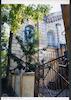 Great (Glavnaia) Synagogue in Odessa West facade, northern part – הספרייה הלאומית
