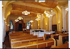 Great (Glavnaia) Synagogue in Odessa Prayer hall, view towards east – הספרייה הלאומית