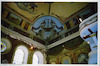 Tsori Gilad Synagogue in Lviv, interior, ceiling, photos 2006 Ceiling, southeastern corner – הספרייה הלאומית