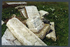 Jewish Cemetery in Zlotyi Potik Tombstone – הספרייה הלאומית