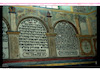 Synagogue in Łańcut -Text tablets-North wall Wall paintings – הספרייה הלאומית