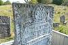 Jewish Cemetery in Sataniv, photos 2014 Ohel of R. Yosef Bloch: his tombstone – הספרייה הלאומית