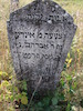 New Jewish Cemetery in Medzhybizh Tombstone of Inde daughter of Avraham Gleizer – הספרייה הלאומית