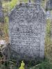 New Jewish Cemetery in Medzhybizh Tombstone of Dvora daughter of Michel, daughter-in-law of Rabbi Shaul, Issakhar Berish – הספרייה הלאומית