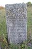 Jewish cemetery in Volochys'k Tombstone of Yaakov son of Avraham – הספרייה הלאומית