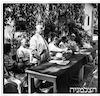הנחת אבן היסוד לבית רטבורן במגדיאל 9/1948 – הספרייה הלאומית
