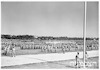 """מצעד צבאי """"יום הצבא"""" [=יום העצמאות] 4.5.1949 – הספרייה הלאומית"""
