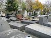 Jewish tombstones at Père Lachaise Cemetery in Paris – הספרייה הלאומית