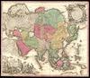 Asia;Cum omnibus imperiis, provinciis... /;Per Matthaum Seutter.