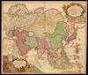 Asiae Recentissima Delineatio Qua Status Et Imperia Totius Orientis unacum Orientalibus Indiis exhibentur / Authore Io. Bapt. Homanno – הספרייה הלאומית
