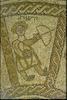 Beth Alpha Synagogue Nave, Zodiac Panel – הספרייה הלאומית