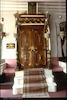 Virane (after 1997 - Beit NIsim) Synagogue in Istanbul Interior, Torah ark – הספרייה הלאומית