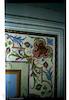 Synagogue in Niebylec - Interior - Ceiling frieze detail – הספרייה הלאומית