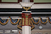 Great Synagogue in Fălticeni - Main prayer hall Capital of a column supporting the women's gallery – הספרייה הלאומית