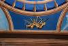 Synagogue Gmilut Hasadim (GAH) in Suceava - Main Prayer hall - Ceiling decoration – הספרייה הלאומית