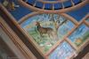 Synagogue Gmilut Hasadim (GAH) in Suceava - Main Prayer hall - Ceiling decoration - Four Animals – הספרייה הלאומית