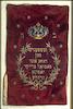 Torah Mantle donated by Rosa and Samuel Breyer, 1908 – הספרייה הלאומית