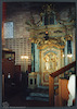 Torah Ark in Tempietto Piccolo - The Small Prayer Hall in Tempio Grande (Great Synagogue) in Turin Torah ark – הספרייה הלאומית