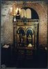 Tempiettino small prayer room in Tempio Grande (the Great Synagogue) in Turin Interior, undeground synagogue – הספרייה הלאומית