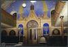 Synagogue in Mediaș - Prayer hall Eastern wall – הספרייה הלאומית