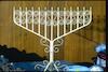 Bar-Mitzvah candelabrum – הספרייה הלאומית