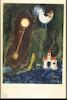 Chagall, Vitebsk Landscape with Clock, a Church and a Cock – הספרייה הלאומית