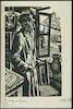 Jew standing at the window – הספרייה הלאומית